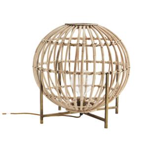 Bambu pöytävalaisin